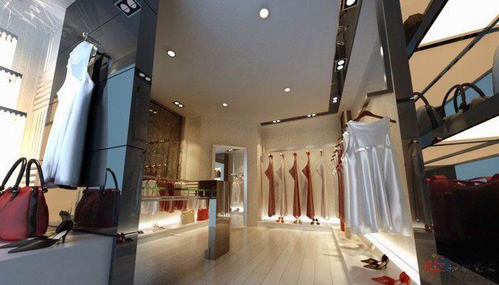 10平米的服装小店装修