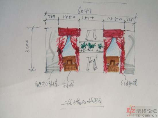 服装店橱窗手绘图图片 服装店橱窗效果图,服装店橱窗3d模型