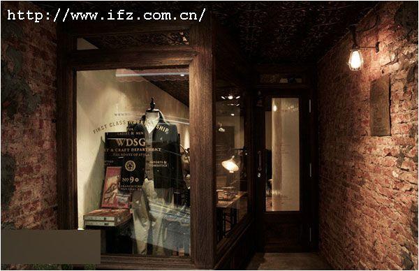 复古风格服装店设计