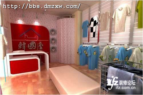 深圳服装店装修风格效果图
