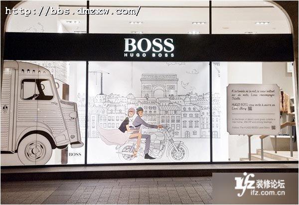 服装店面装修7大创意 时尚橱窗展示设计