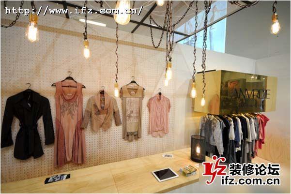 g2000服装店空间展示